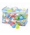 Bestway 100 plastových barevných míčků v tašce - průměr 6,5 cm