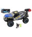 Teddies Auto RC terénní modré 39cm plast 2,4GHz na baterie + dobíjecí pack v krabici 46x21x27cm