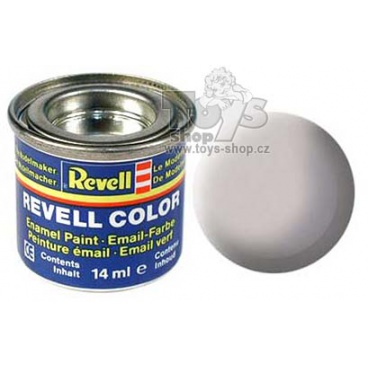 Revell emailová barva 32143 matná středně šedá