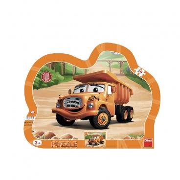 Dino Ostatní Dino puzzle dětské Tatra 25D deskové