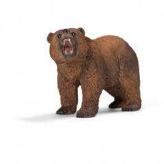 Schleich 14685 Zvířátko - medvěd Grizzly