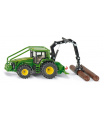 SIKU Farmer - Lesnický traktor John Deere, 1:50