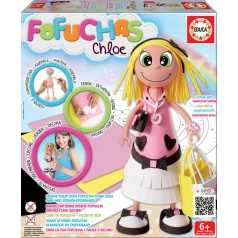 EDUCA Chloe - sestav si svou panenku