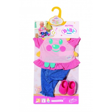 Zapf Creation My Little Baby Born Roztomilé oblečení, 2 druhy- 32cm asort, 825119