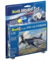 Revell ModelSet letadlo 63983 - Vought F4U-1A Corsair (1:72)