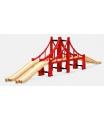 """Brio 33683 Most velký """"San Francisko"""" příslušenství k vláčkodráhám"""