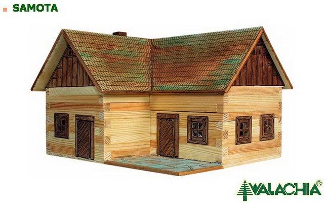 Walachia dřevěná stavebnice - Samota