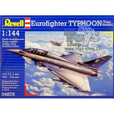 Revell 04879 letadlo Eurofighter Typhoon Twinseater (1:144)