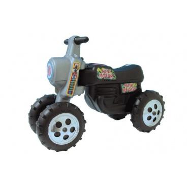 Teddies Dětské odrážedlo - motorka CROSS černé