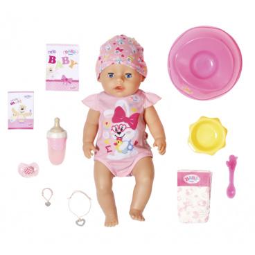Zapf Creation BABY born s kouzelným dudlíkem, holčička, 43 cm