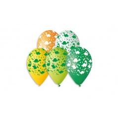 Smart Balloons Balónik nafukovacie dinosaurus 12 '' priemer 30cm 5ks v sáčku