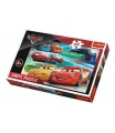 Trefl Puzzle Cars 3 100 dílků 41x27,5cm v krabici 29x20x4cm