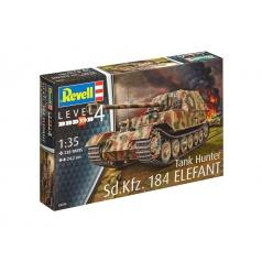 """Revell 03254 Plastic ModelKit tank - Sd.Kfz. 184 Tank Hunter """"Elefant"""" (1:35)"""