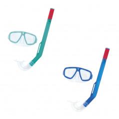 Bestway Šnorchlovací set FUN - brýle a šnorchl - mix 2 barvy (modrá, zelená)