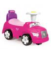DOLU Odrážedlo auto růžové 2 v 1