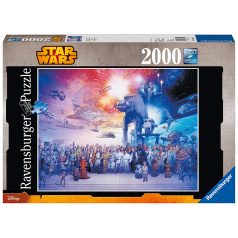 Ravensburger Star Wars vesmír 2000 dielikov