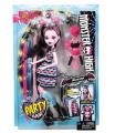 Mattel DVH36 Monster High panenka PÁRTY ÚČES