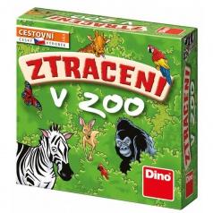 Hry Dino Ztraceni v ZOO cestovní hra