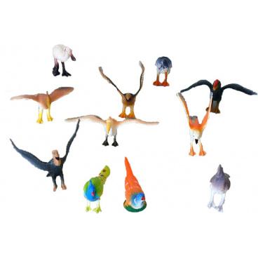 rappa hračky Ptáci 12ks