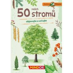 Mindok vzdělávací hra Expedice příroda: 50 našich stromů