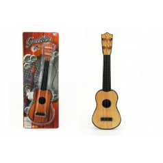 Teddies Gitara plast 40cm asst 2 farby na karte