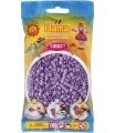 HAMA pastelové fialové zažehlovací korálky v sáčku MIDI