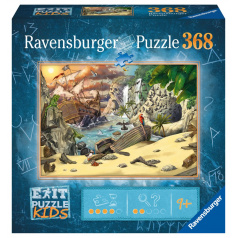 Ravensburger Exit KIDS Puzzle: Piráti 368 dielikov