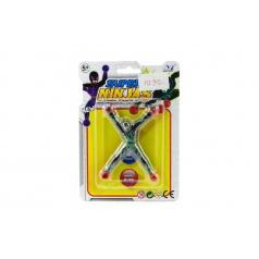 Figurka lezoucí po skle 10cm plast na kartě 12,5x18cm