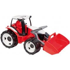 Lena Traktor se lžící červeno bílý