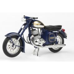 ABREX Jawa 350 Kývačka Automatic (1966) 1:18 - Modrá Kobaltová