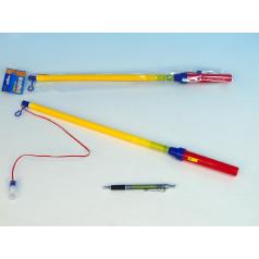 Hůlka k lampionu 50-75cm na baterie karneval