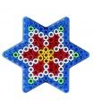 HAMA zažehlovací korálky - Maxi podložka hvězda
