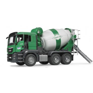 Bruder 3710 Konstrukční vozy - míchačka MAN TGS