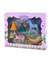 Rappa Sada kočár s koňmi a princezna s odnímatelnými šaty