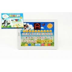 Teddies Krtkův naučný tablet pro nejmenší Krtek 24,1x18,7x1,8cm na baterie v krabici