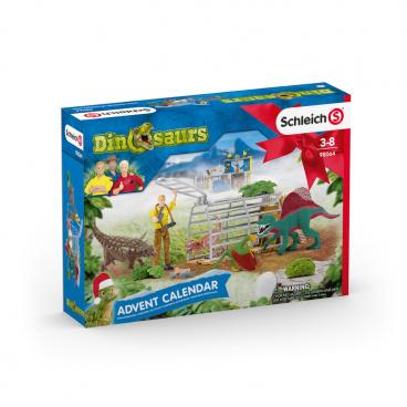 Schleich 98064 Adventní kalendář Schleich 2020 - Dinosauři