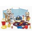 Sylvanian Families 4870 Medvídkovi na pláži