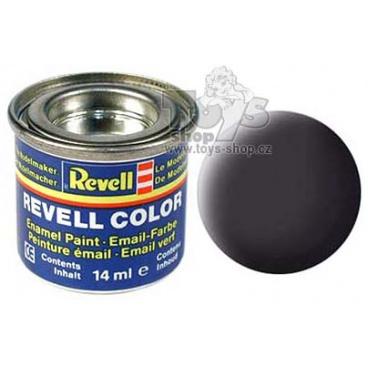 Revell emailová barva 32106 matná dehtově černá 14ml
