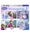 Ravensburger puzzle Frozen Ledové království 4 v1 12/16/20/24d