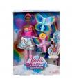 Mattel Barbie LÉTAJÍCÍ VÍLA S KŘÍDLY ČERNOŠKA FRB09