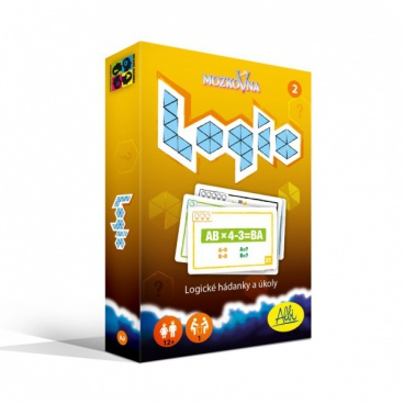 ALBI společenská hra Mozkovna Logic 2 - hádanky