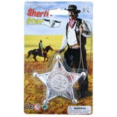 Kovbojská hvězda šerifská