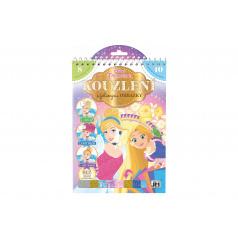 Jiri Models Kouzlení s fóliovými obrázky Princezny Disney 17,5x26cm