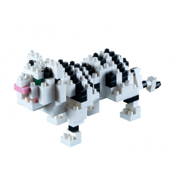 Brixies stavebnice Bílý tygr