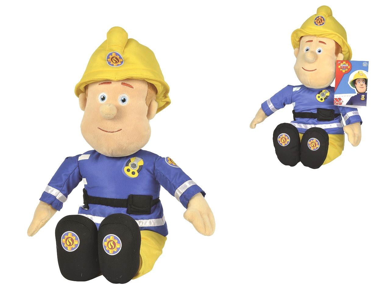 Simba Požárník Sam Plyšová figurka 45 cm