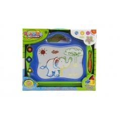 Teddies Magnetická tabuľka kresliace plast v krabici 40x34x4cm