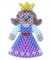 HAMA zažehlovací korálky - Maxi podložka Princezna