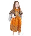 Rappa Dětský kostým Halloween oranžový (S)