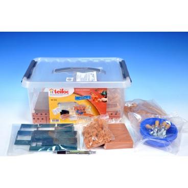 Teifoc School Set v plastovém boxu s úchyty 39x19x29cm