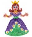 HAMA zažehlovací korálky - MIDI podložka princezna